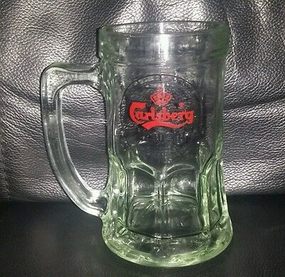 Rare Collectable Carlsberg Draught Beer Glass Mug Brand New Never Used