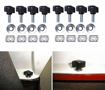 Jeep Wrangler Universal Easy On Off Hard Top Fasteners Nuts Bolts for YJ TJ JK