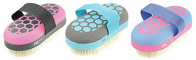 HySHINE Glitter Range Soft Grip Horse Pony Grooming Brushes/Combs