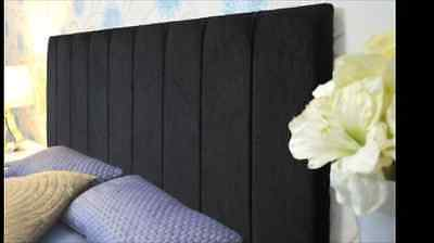 "Chenille Fabric Clarence 30"" Height Headboard in 2ft6,3tf,4ft,4ft6,5ft,6ft"
