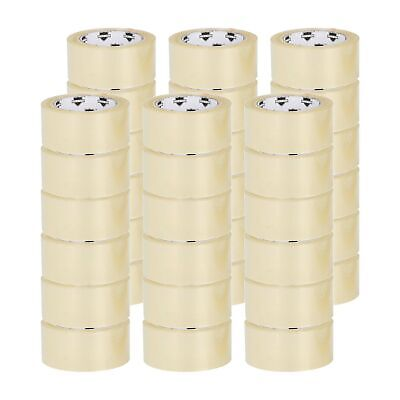 """36 Rolls Box Carton Sealing Packing Packaging Tape 2""""x110 Yards(330' ft) Clear"""