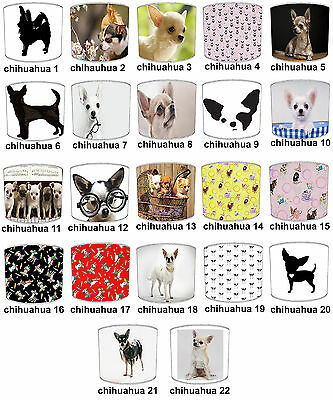 Lampshades Ideal To Match Chihuahua Cushions & Chihuahua Wall Stickers & Decals