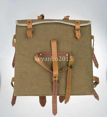Ww2 Japan Officer's Field Bag Boyt Map Pack Musette Rare