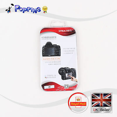 Canon 600D 6D 70D 700D Camera LCD Screen Protector Optical Glass Cover