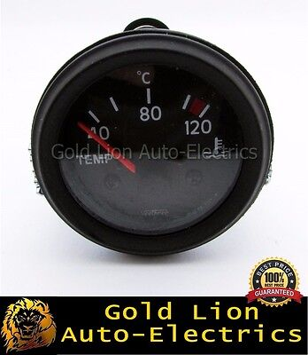 160778  | New Water Coolant Temperature Gauge & Sender Od 52Mm 24V Clock