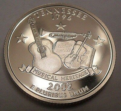 2002 S Tennessee *proof* State Quarter   **free Shipping**