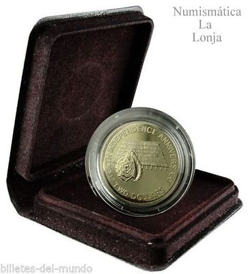 Kiribati 2 dollars 10th Anniversary Independence 1989 Km 14 In special Box