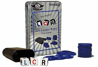 LCR Left Center Right Collector's Tin