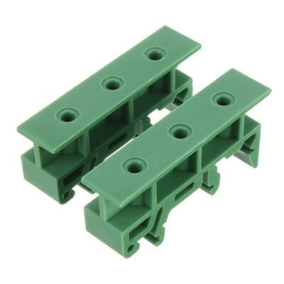 2pc Simple PCB Circuit Board Mounting Bracket For Mounting DIN Rail Mounting