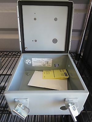 """ONE (1) Hoffman Steel Junction Box A808CH, NEW, 8""""x8""""x4"""""""