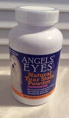 Angels Eyes NATURAL TEAR STAIN REMOVER POWDER CHICKEN FLAVOR 2.65 Oz.(75g) NEW!