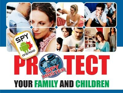 SPY MASTER Android phone surveillance cell phone monitoring Parental Controller