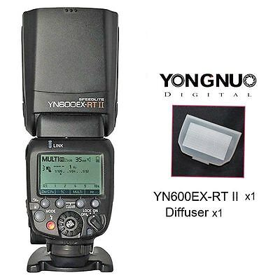 Yongnuo YN600EX-RT Wireless Speedlite Master Flash 2.4G for 600EX-RT Canon UK