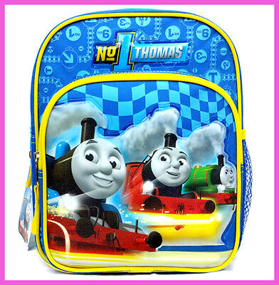 """Thomas Tank Engine Friends 10"""" Small Backpack - Boys Bag Toddler Extra Small"""