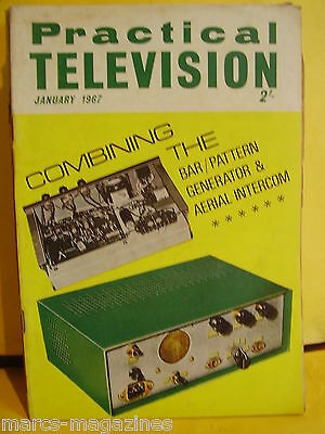Practical Television January 1967 Aerial Riggers Intercom Sync Line Selector