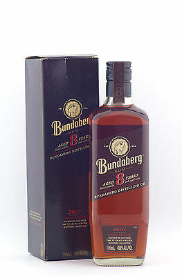 2007 Bundaberg Rum 8 Year Old 700ml RARE