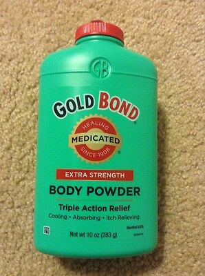 Gold Bond Medicated Extra Strength Powder, 10-Ounce Container New