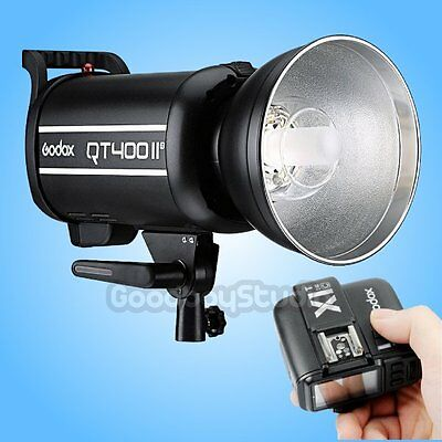 Godox QT-400IIM 400W 2.4G X-System Studio Strobe Flash Light + X1T-C Transmitter