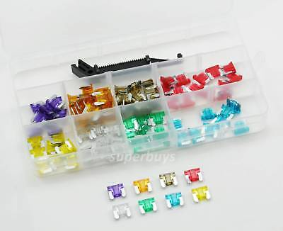 1 or 100pc 3-30A Micro Mini Blade Fuse Puller Car Auto Vehicle Assorted Kit Set