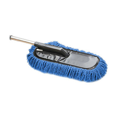 Vehicle Car Truck Cleaning Wash Brush Dusting Tool Telescoping Duster Blue