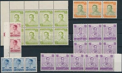 Thematic lot stamp Thailand Definitive: King Bhumibol Aduljadeh MNH WS202962