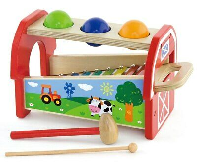 NEW VIGA - Pounding Bench & Xylophone from Baby Barn Discounts