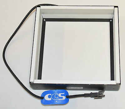 CCS FPQ-120-SW Square low angle Machine Vision LED White