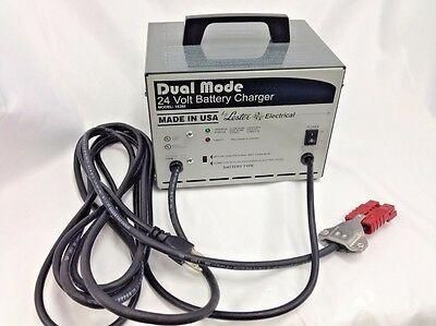 24 volt battery charger # 40510A for Clarke & American Lincoln floor scrubbers
