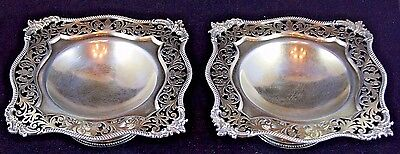 James Dixon & Sons Sterling Silver Pair of Centerpieces