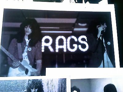 RAGS MEGARARE 1973-75 Newspaper/Paperwork Collection–New York Dolls/KISS