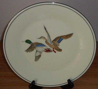 """Lenox WILD DUCKS 10.5"""" Collector's Special Edition Plate made in USA Hunting"""