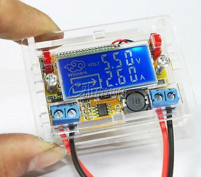 DC-DC Adjustable Step Down Power Supply Module Voltage Current LCD Display Shell