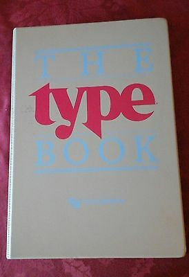 Type Font Visualizers - Vintage Typography Book