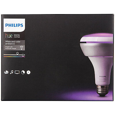 Philips Hue Wireless Color Changing Smart Bulb 456228 BR30 2nd Gen in Retail