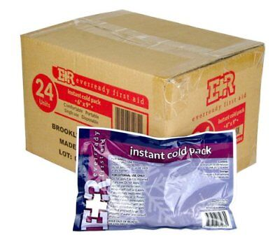 Case Of 24 Ammonia Nitrate Based Instant Cold Compress Ice Packs Non Toxic 6X9""