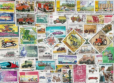 200 AUTOMOBLLES on Stamps