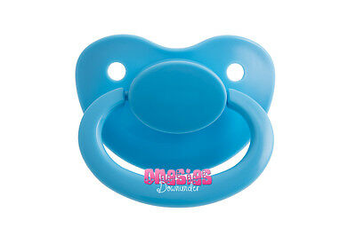 Adult Sized Baby Blue Pacifier/Dummy NUK 6 | For Adult Baby ABDL DDLG |