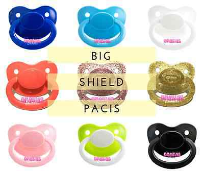 Adult Sized Pacifier/Dummy NUK 6 | For Adult Baby ABDL DDLG | BIG SHIELD