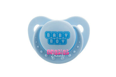 Adult Sized Blue BABY BOY Pacifier/Dummy  | For Adult Baby ABDL DDLG |