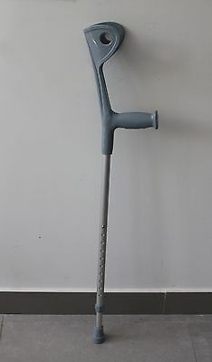 Heavy duty forearm crutches Height Adjustable Lightweight Walking Forearm Crutch