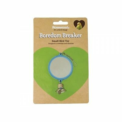 Boredom Breaker Budgie & Canary Double Mirror W/bell - Accessories - Bird - Toys
