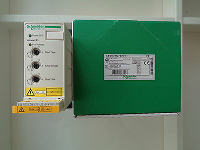 "Telemecanique / Schneider Electric Soft Start, ATSU01N212LT "" NEW IN BOX"""