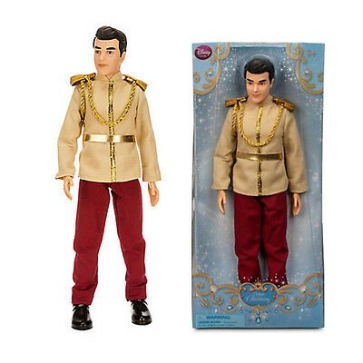 New Official Disney Cinderella 30cm Prince Charming Classic Figure Doll