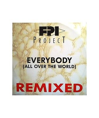 """[VX02858] FPI Project """"Everybody (All Over The World) (Remixes)""""  - 12"""" Paradise"""