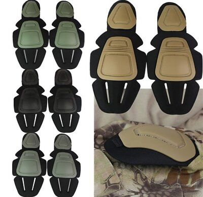 Tactical Military Knee & Elbow Protective Soft Pad For FROG Combat Uniform Suit