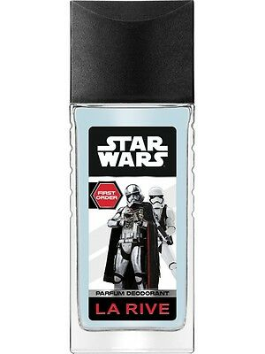 12,49EUR/100ml La Rive STAR WARS FIRST ORDER DEODORANT Deospray Kinder 80ml