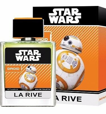 27,98EUR/100ml La Rive STAR WARS DROID Parfüm EDT Kinder Jungen 50 ml