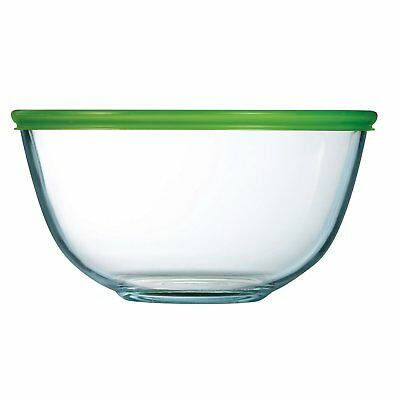 Pyrex Glass 2L Bowl With Lid