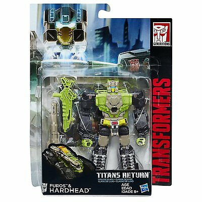 Transformers Generations Titans Return Deluxe Class Hardhead Actionfigur