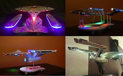 LED Beleuchtungsset Star Trek Enterprise 1701-C 1:1400 Modell AMT 721